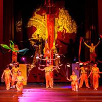 The Peking Acrobats in Los Angeles