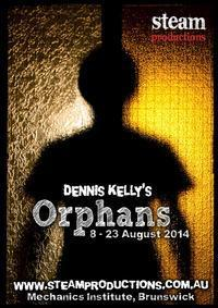 Orphans by Dennis Kelly in Australia - Melbourne