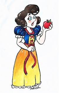 Snow White in Broadway