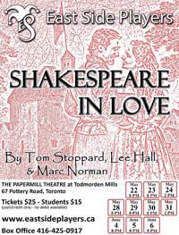 Shakespeare in Love in Toronto