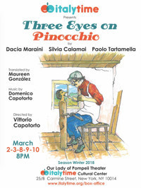 Three Eyes on Pinocchio in Other New York Stages
