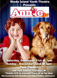 Annie Jr. in Rhode Island