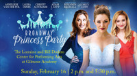Broadway Princess Party in Cleveland