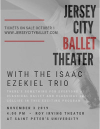 Jersey City Ballet Dances to the Classics...Classical jazz in New Jersey