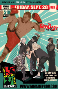 MMA Improv: G.O.A.T.! The September Show in Anchorage