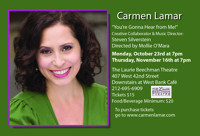 Carmen Lamar - You're Gonna Hear from Me in Central New York