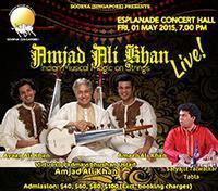 Amjad Ali Khan in Singapore