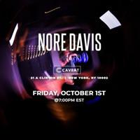 Nore Davis: LIVE! in Off-Off-Broadway