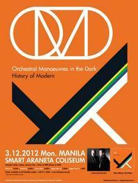 Orchestral Manoeuvres in the Dark Live in Manila 2012  in Philippines