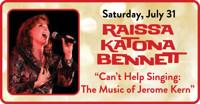 Raissa Katona Bennett in Can't Help Singing: The Music of Jerome Kern in Connecticut