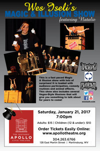 Wes Iseli's Magic and Illusion Show in West Virginia