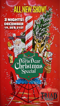 The Doris Dear Christmas Special in Off-Off-Broadway