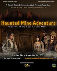 A Haunted Mine Adventure: The Story of the Black Arachna Mine in Columbus