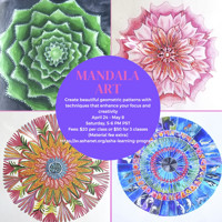 Mandala Art by Asha Learning Program in San Francisco Logo