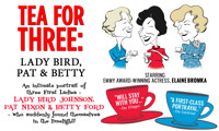 Tea for Three: Lady Bird, Pat & Betty in Fort Lauderdale