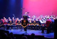 Fest concert w/Salvation Army Horn Orchestra in Norway