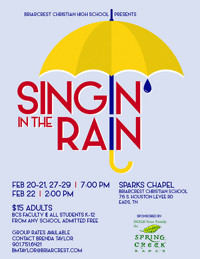 Singin' in the Rain in Memphis