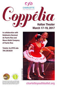 Charlotte Youth Ballet's Performance of the classical storybook ballet, Coppelia! in Charlotte