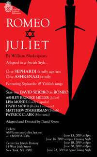 ROMEO & JULIET in a Jewish Adaptation in Central New York