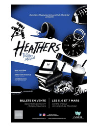 Heathers le thriller musical (en fran?ais!) in Montreal