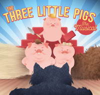 THREE LITTLE PIGS (Theatre for Young Audiences) in Salt Lake City