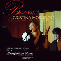 Cristina Morrison - The Jazz Beat Of Galapagos in Other New York Stages