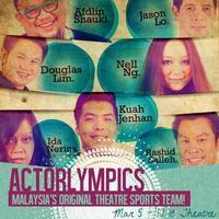 Actorlympics in Malaysia