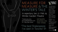 The Winter's Tale & Measure for Measure in Toronto