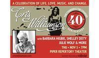 Cris Williamson 40th Anniversary Celebration in Mesa
