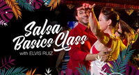 Salsa Basics Class with Elvis Ruiz in New Jersey
