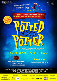 Potted Potter - The Unauthorized Harry Experience in Malaysia