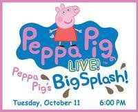 Peppa Pig Live! - Peppa Pig's Big Splash! in South Bend