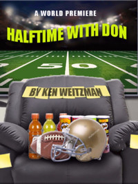 Halftime with Don, A World Premiere by Ken Weitzman at NJ Rep in Broadway