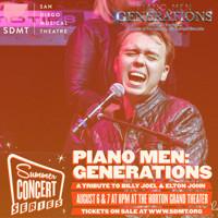 San Diego Musical Theatre Summer Concert Series - PIANO MEN in San Diego Logo
