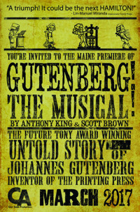 Gutenberg! The Musical! in Maine