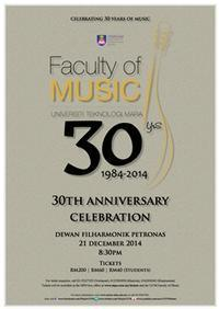 Celebrating 30 Years of Music in Malaysia