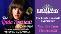 The Linda Ronstadt Experience Featuring Tristan Mcintosh in NEW JERSEY