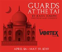 Guards at the Taj in Broadway