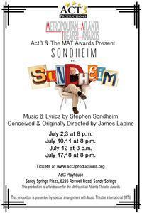 Sondheim on Sondheim in Atlanta