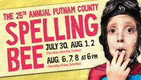 The 25th Annual Putnam County Spelling Bee in Connecticut Logo