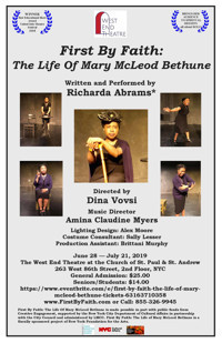 First By Faith: The Life Of Mary McLeod Bethune in Broadway