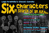 Six Characters In Search Of An Author in Broadway