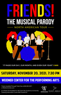 FRIENDS! The Musical Parody in Appleton, WI