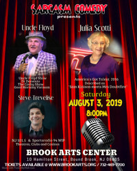 Julia Scotti & Uncle Floyd : Double Headliner at the Brook! in New Jersey
