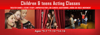 ACTING & IMPROVISATION INTERACTIVE ONLINE CLASSES FOR CHILDREN & TEENS in Los Angeles