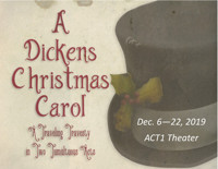 Dickens Christmas Carol: A Traveling Travesty in Two Tumultuous Acts in Atlanta