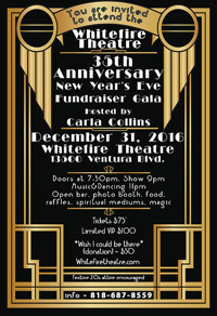 Whitefire Theatre 35th Anniversary Gala/Fundraiser in Los Angeles