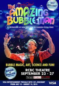 LOUIS PEARL, THE AMAZING BUBBLEMAN in Philippines