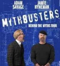 MYTHBUSTERS Behind the Myths Tour in Broadway