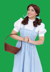 Dorothy in Oz in Cincinnati